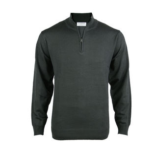 Lightweight 1/4 Zip - Carbon