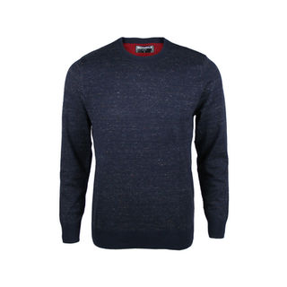 Contrast Detail Crew Neck - Tailored Fit.  Galaxy