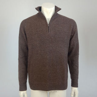 Super Soft Tailored Fit 1/4 Zip - Molasses