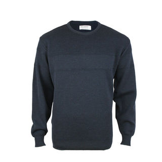 NZ Made Textured Jacquard - Dark Navy