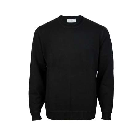 Pure Wool Crew - Black